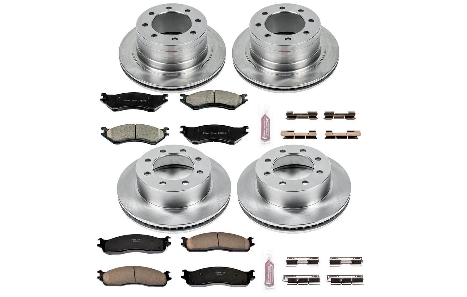 Autospecialty KOE5468 1-Click OE Replacement Brake Kit