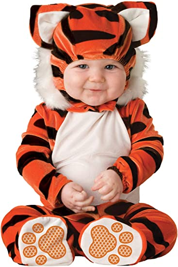 Plush Animal Tiger Costume for Kids and Toddlers Dress Up America Tiger Costume