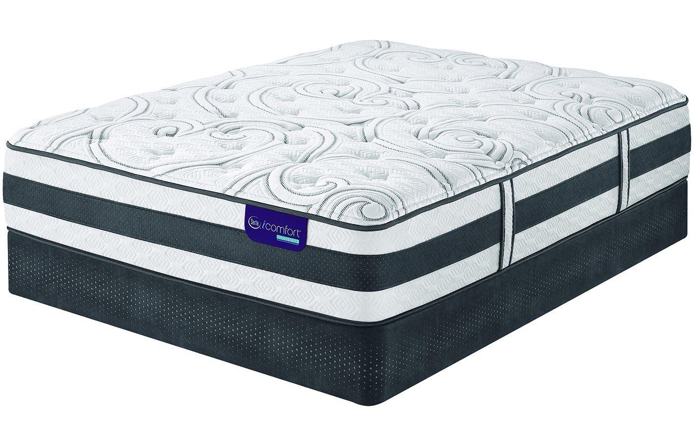 amazon com serta queen icomfort hybrid applause ii plush mattress