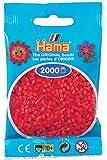 Hama Perlen 501-05 - Mini-Perlen, 2000 Stück rot