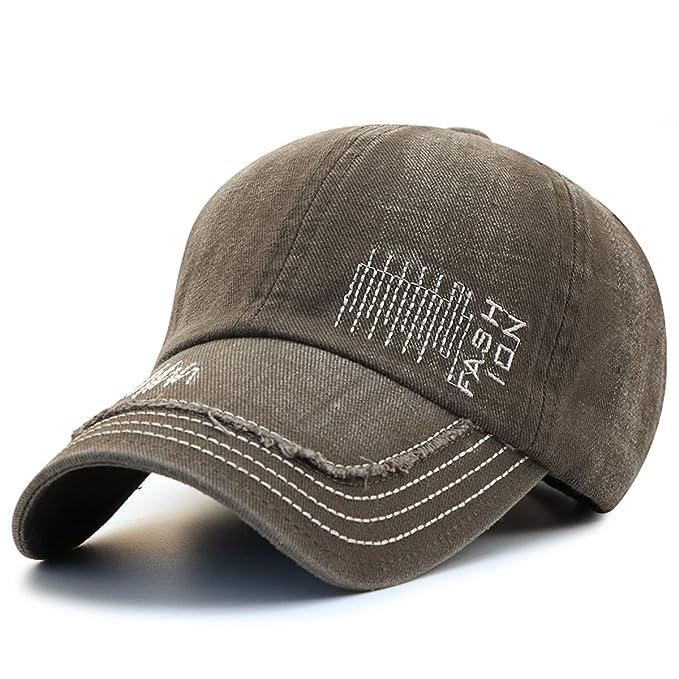 KeepSa Unisex Baumwolle Baseball Cap, Baseball Kappe,Texture Pattern    Stickerei Brief,Baseball 59bff6e643