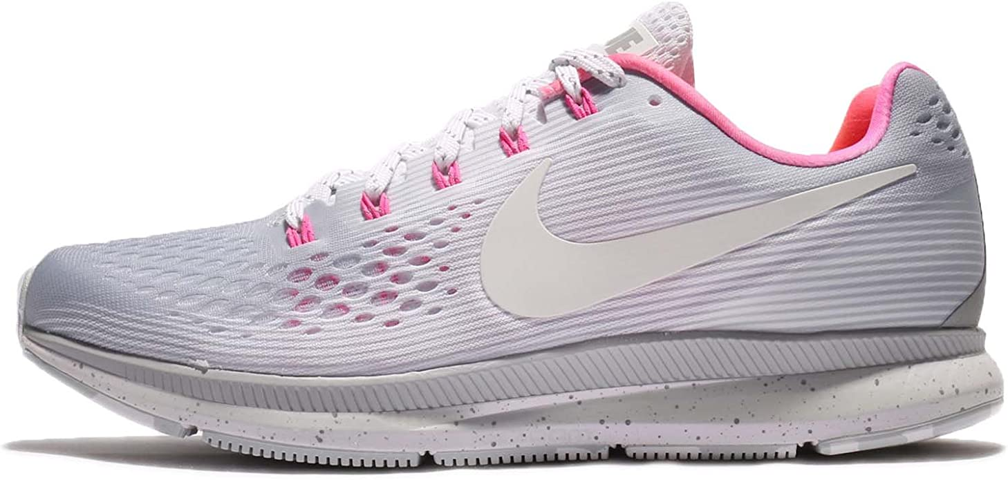 Me preparé Implacable uno  Amazon.com   Nike Men's Air Zoom Pegasus 34 Running Shoe (11.5 D(M) US,  Wolf Grey/White-Pink Blast)   Road Running