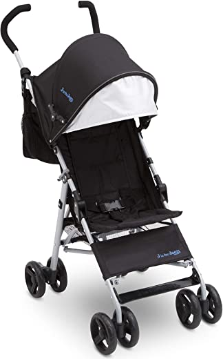 Jeep North Star Stroller, Black with Royal Blue