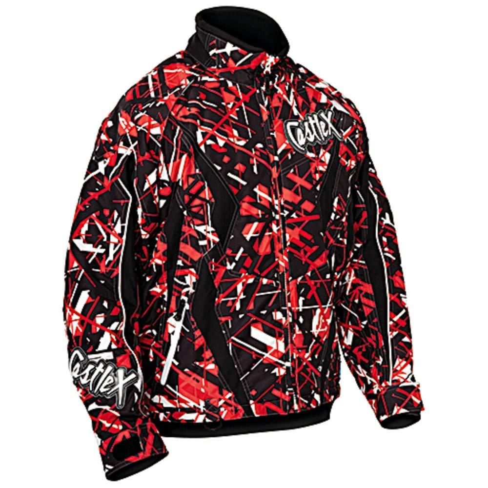 Castle X Jacket Boys Switch se Slash red Medium
