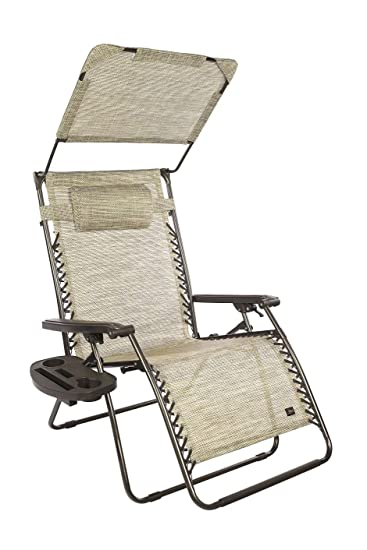Medium image of bliss hammocks xxl 33 u0026quot w gravity free recliner w  canopy