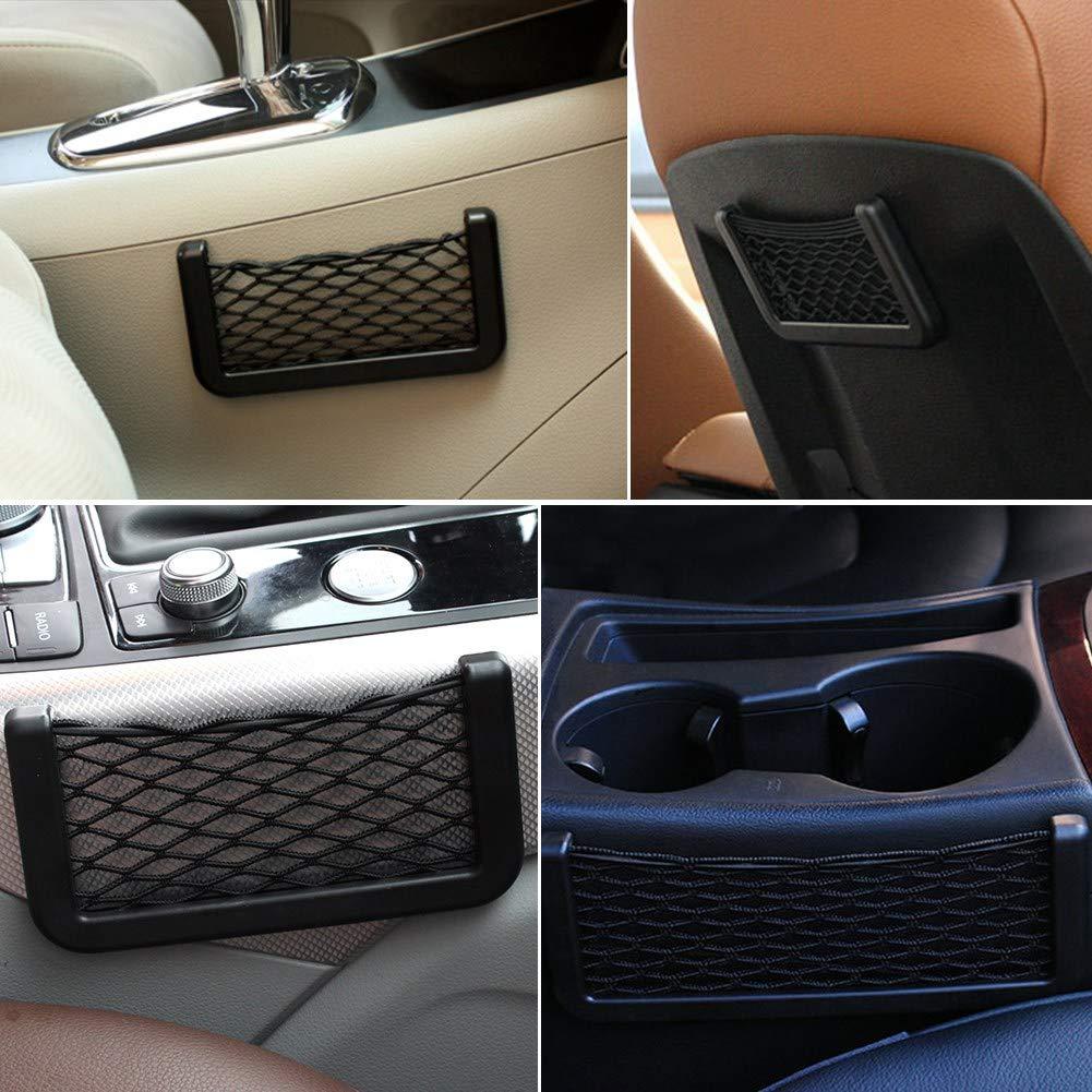 Portaoggetti Auto Tasca Sedile 8.5x20cm Posteriore Bagagli Tasca del Sedile Organizzatore Backseat Borsa Fai Da Te