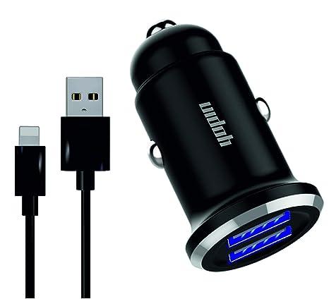 Amazon.com: Yopin   Cargador de coche USB doble de metal   5 ...