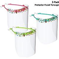 na Torosqui Protector Facial Infantil 3 Pack (Niñas)