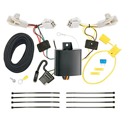 Groovy One Vehicle Wiring Harness With 4Pole Flat Trailer Connector Tow Wiring Cloud Hisonuggs Outletorg