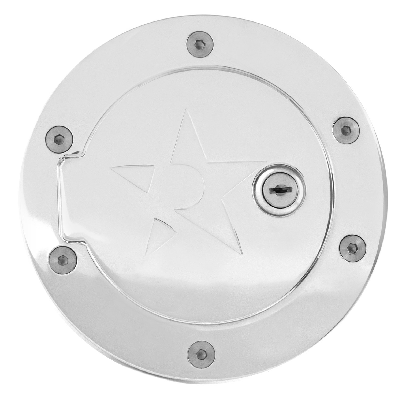 RBP (RBP-149CK) Chrome Locking Gas Door for Dodge RAM 1500