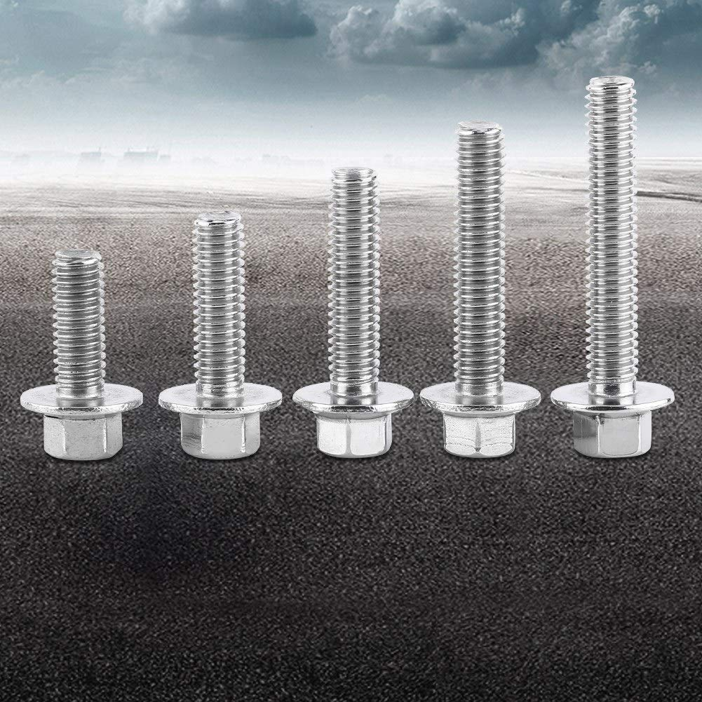 M6*35 10pcs M6 en acier inoxydable SS304 t/ête /à embase /à t/ête creuse vis /à six pans creux /à vis /à t/ête /à t/ête cylindrique boulons attache