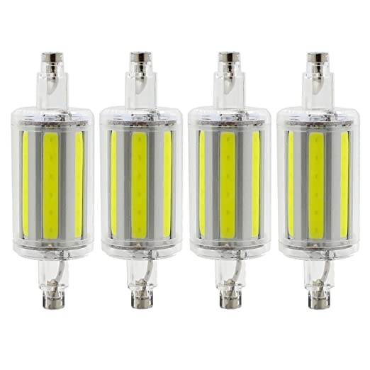 R7S 78mm COB LED Bombillas - Blanco Frío 6000K - 8W / 600lm - No Regulable