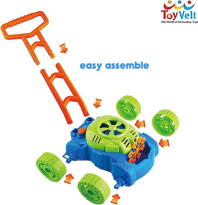 Amazon.com: ToyVelt - Cortacésped con burbujas para niños ...