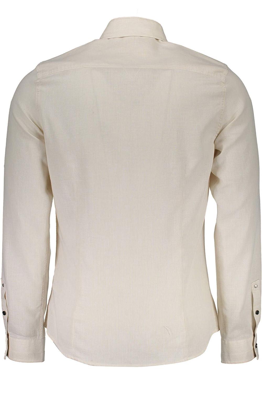 Guess Jeans M73H38W8TT0 Camicia Maniche Lunghe Uomo