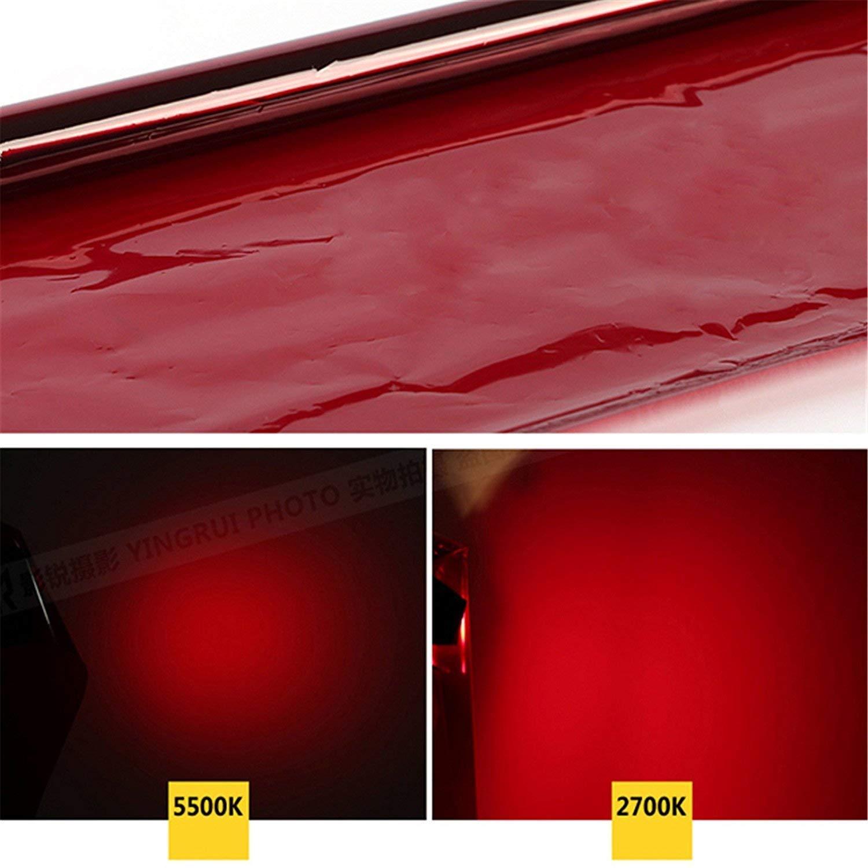 Selens 40x50cm Gel de Color Filtro Luz Geles de Correcci/ón L/áminas Pl/ástica de Pel/ícula de Color Transparente para Foco de 800W Cabezal Rojo Fotograf/ía Estudio Fotogr/áfico Verde