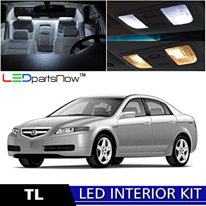 Amazoncom LEDpartsNow Acura TL LED Interior Lights - Acura tl accessories