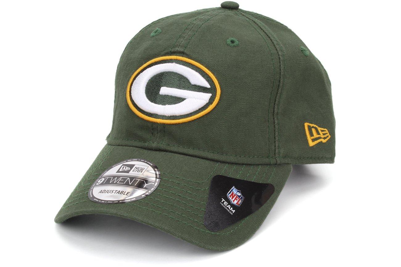 bcb8b5521 Amazon.com   New Era Green Bay Packers Green Core Shore 9TWENTY Adjustable  Hat Cap   Sports   Outdoors