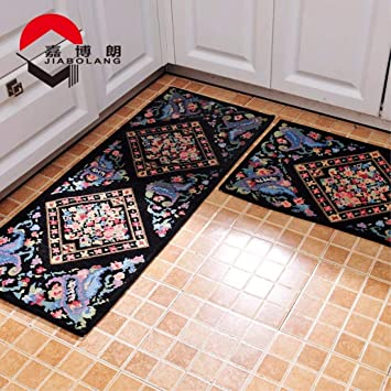 Amazon.de: XYH Home Waschbare Küche Teppich Anti-Rutsch ...