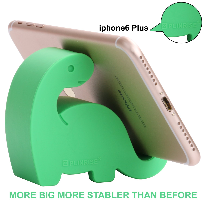 Amazon Plinrise Animal Desk Phone Stand Update Dinosaur Stripe Silicone Office Holder Creative Tablet Mounts Size13 X 31