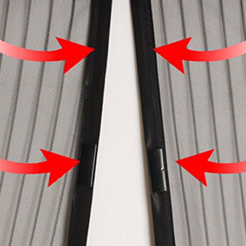 Fantastischer Fliegengitter Magnetvorhang OUTAD Anti Mosquito Vorhang f/ür T/üren 100*210cm Bildschirm T/ür Vorhang Schwarz