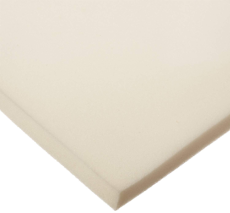FoamRush 6'' H x 24'' W x 24'' L Upholstery Foam Cushion High Density (Chair Cushion Square Foam for Dinning Chairs, Wheelchair Seat Cushion Replacement) by FoamRush