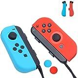 Amazon.com: Nintendo Switch Comfort Grip Joy Con Grey Gel ...