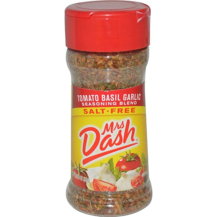 The Best Mrs Dash Tomato Basil Garlic Seasoning Blend