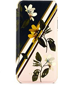 Ted Baker Fashion Premium Mirror Case for iPhone X/XS - SIVANYA
