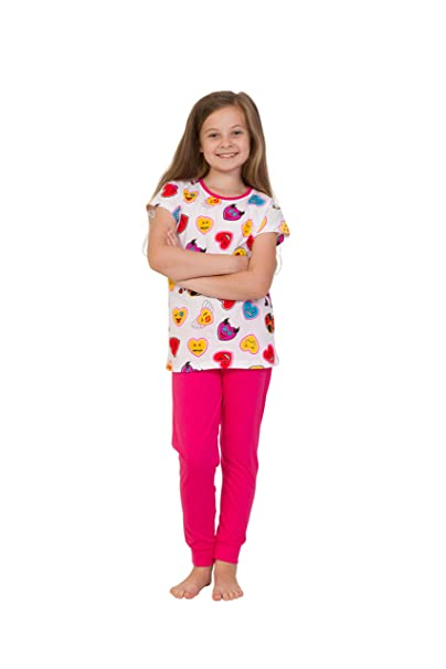 ThePyjamaFactory - Pijama - para niña Rosa rosa 10 años