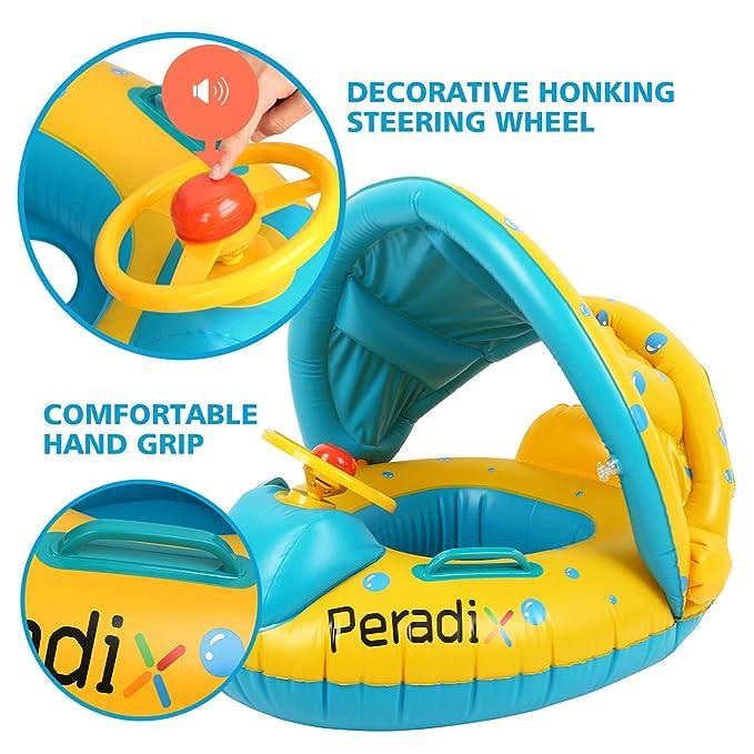 Amazon.com: Agua para el bebé flotadores inflable juguetes ...