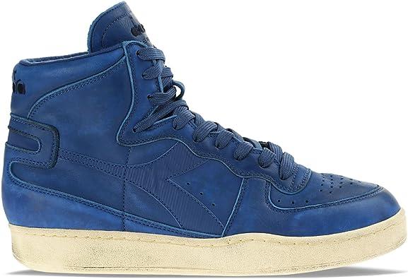 Diadora Heritage Sneakers MI Basket Used für Mann und Frau