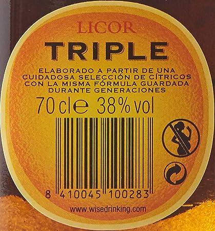 Triple Seco Licor - 700ml