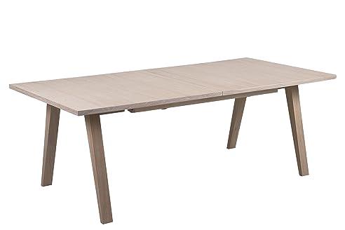 SØRENSEN DESIGN Esstisch U0026quot;Antjeu0026quot; Eiche ölbehandelt Mit  Ausziehplatten Skandinavisches Design Holz Ausziehbar Tisch