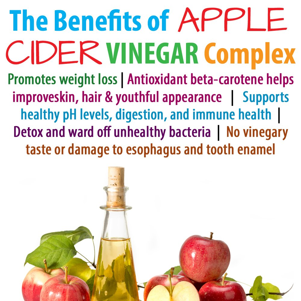 Thrive Naturals Apple Cider Vinegar Complex - Maximum Strength - Supports Healthy Weight Loss, Digestive Function & Detoxification (3 Pack) by Thrive Naturals