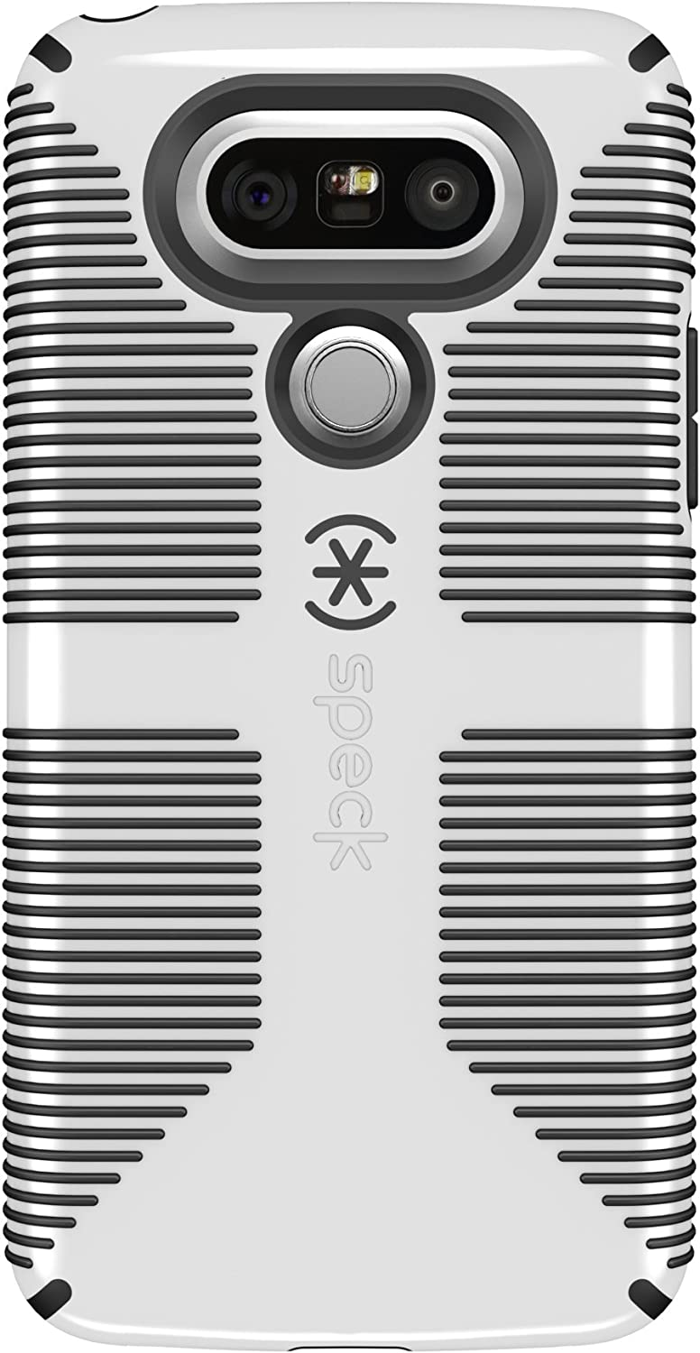 Speck Products CandyShell Grip Cell Phone Case for LG G5 - White/Black