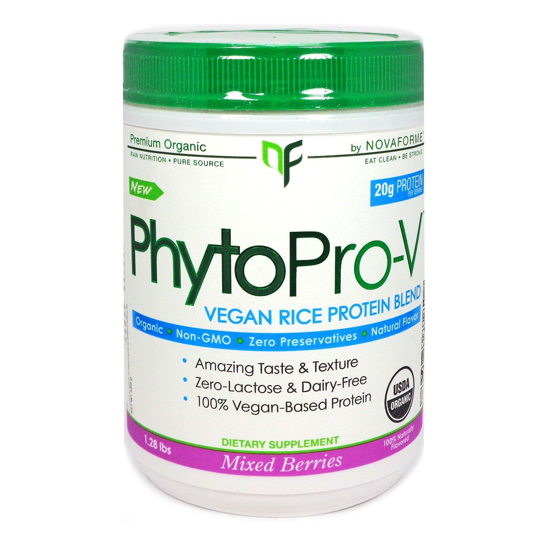 Novaforme PhytoPro-V, Mixed Berries, 600g