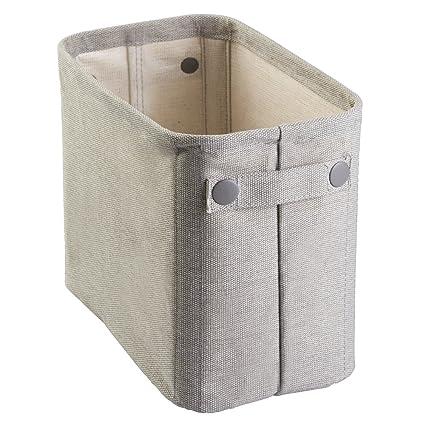InterDesign Wren Cotton Fabric Bathroom Storage Bin for Magazines Toilet Paper Bath Towels -  sc 1 st  Amazon.com & Amazon.com: InterDesign Wren Cotton Fabric Bathroom Storage Bin for ...