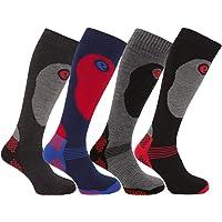 HDUK Mens Socks 2 o 4 Pares de Calcetines de esquí térmico de Alto Rendimiento para Hombre