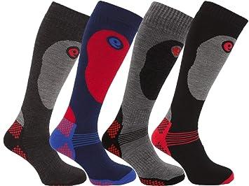 HDUK Mens Socks 2 o 4 Pares de Calcetines de esquí térmico de Alto Rendimiento para Hombre (4 Pares Surtidos): Amazon.es: Deportes y aire libre