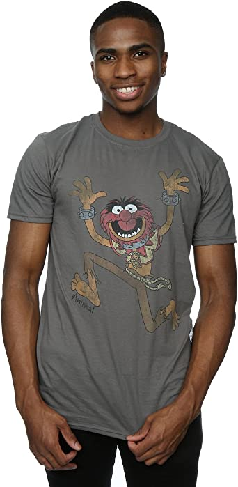 Ideal Gift or Birthday Present. Muppets 100/% Animal Mens Funny T-Shirt