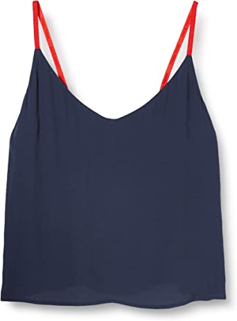 Tommy Hilfiger Tjw Embroidery Strap Top Blusa para Mujer