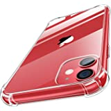 MoKo Compatible with iPhone 11 Case, Clear Reinforced Corners TPU Bumper + Anti-Scratch Anti-Yellow Transparent Hard…