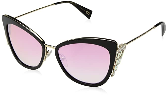 f8c6955d57e9 Amazon.com: Marc Jacobs Women's Marc263s Polarized Cateye Sunglasses ...