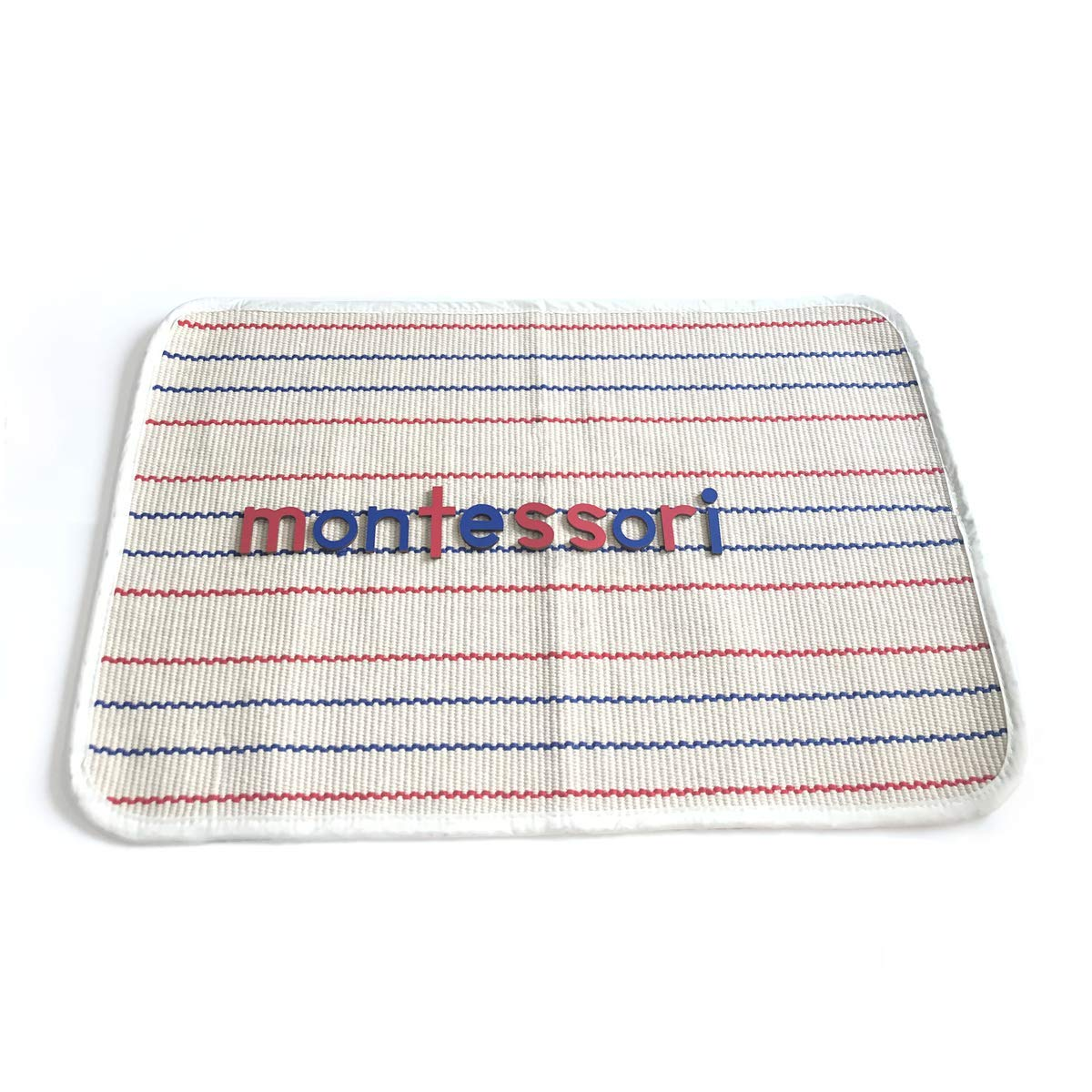 EOFEEL Montessori Materials Accessories Children Playing Mat Working Rug Small (17/×27in)/…