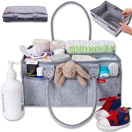 Amazon.com: Groverly organizador de pañales para bebés ...