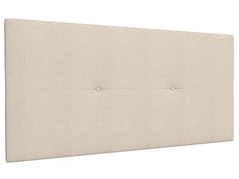 LA WEB DEL COLCHON Cabecero de Cama tapizado Acolchado Camile 115 x 55 cms Apto para