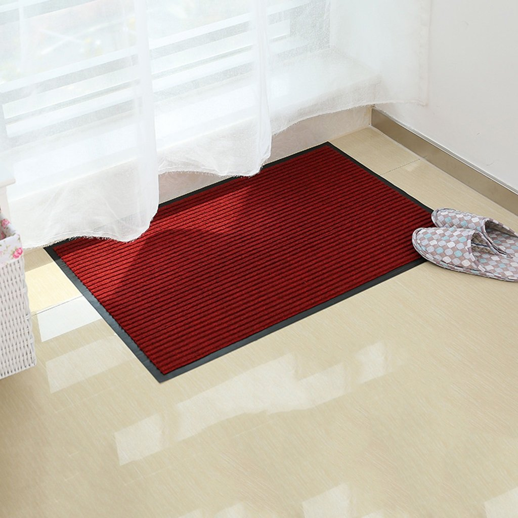 Interior carpet Door Mats Hall Aisle Bathroom Kitchen Water Absorption Non-slip Home Mats Hotel Carpet blanket ( Color : C , Size : 4060cm )