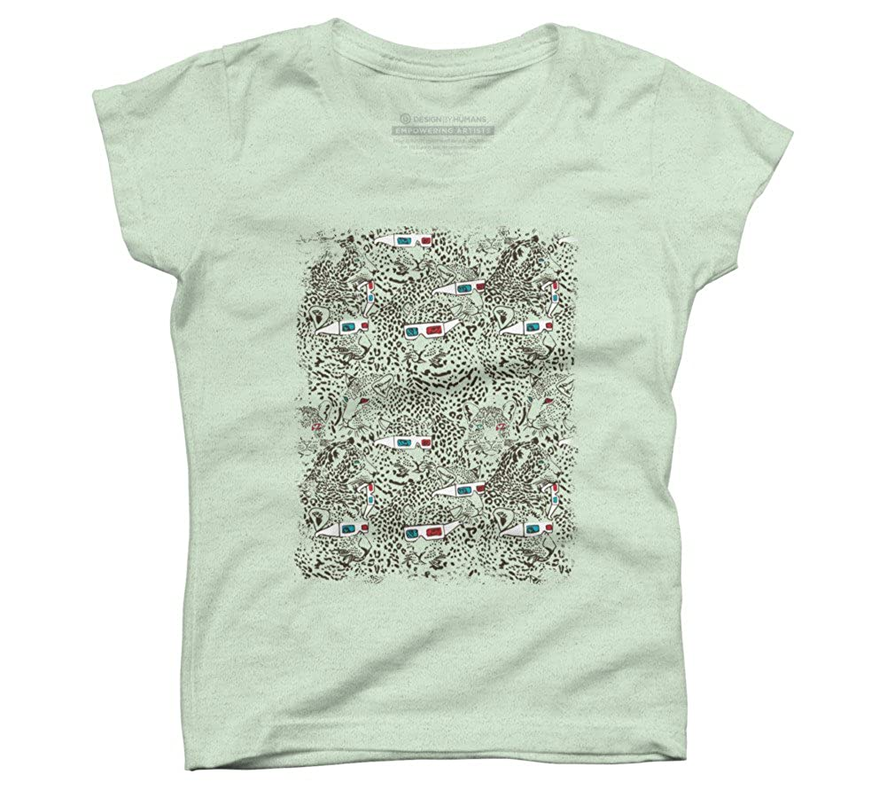Amazon Leopard 3d Girls Youth Graphic T Shirt Design By
