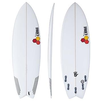 Channel Islands Water Hog Futures - Tabla de surf de 5 aletas, 1,8