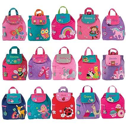 Personalizable de los niños niñas mochilas | personalizado Stephen Joseph niños mochilas Mochilas Niñas | personalizado